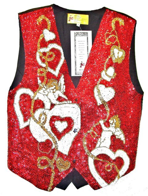 Image 0 of Sequin Vest Sweethearts