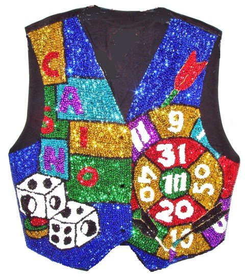 Image 0 of Sequin Vest Casino