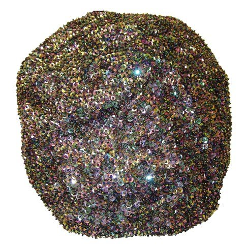 Image 0 of Sequin Beret Peacock