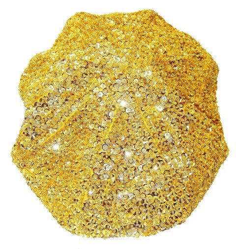 Image 0 of Sequin Beret Gold