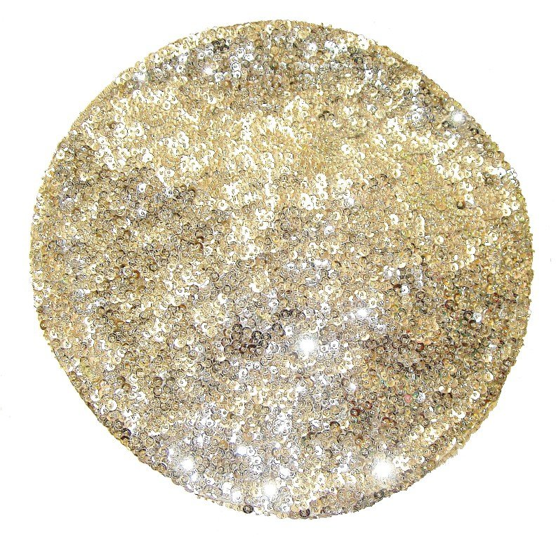 Image 0 of Sequin Beret Silver
