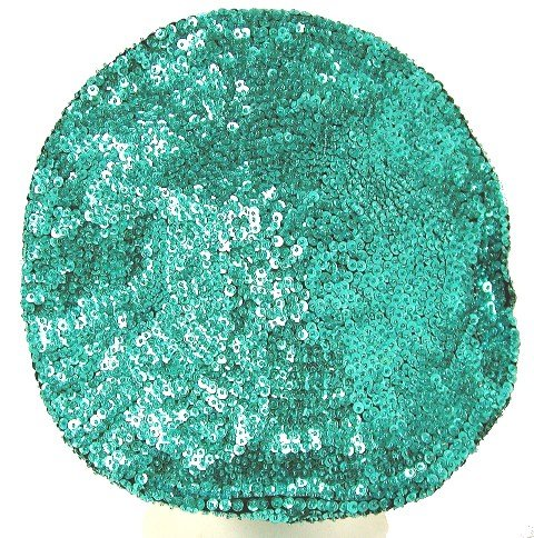 Image 0 of Sequin Beret Turquoise