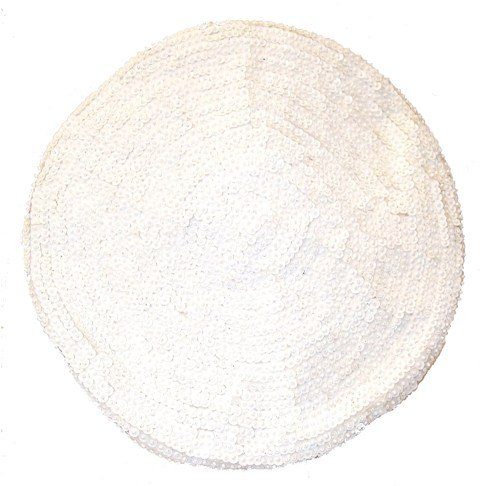 Image 0 of Sequin Beret White
