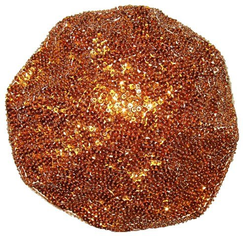Image 0 of Sequin Beret Brown