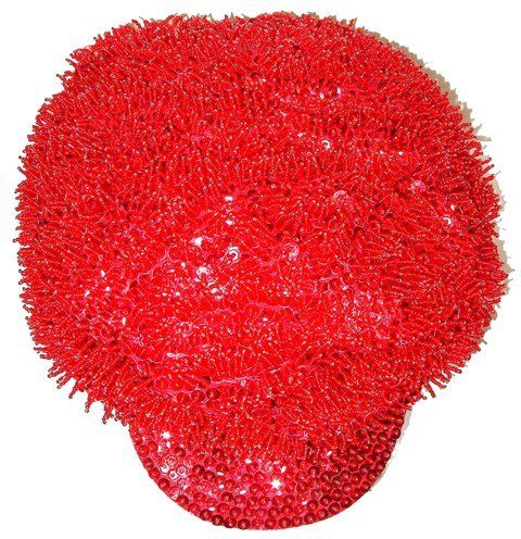 Image 0 of Sequin Brando Cap Red (HAT-23)