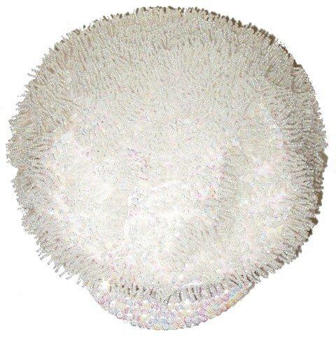 Image 0 of Sequin Brando Cap Pearl White (HAT-23)