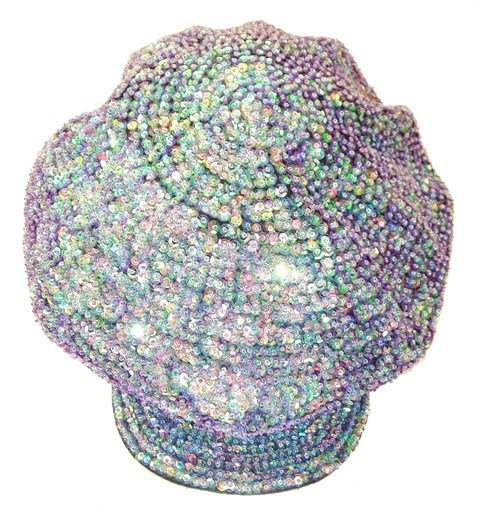 Image 0 of Sequin Brando Cap Opal Purple (HAT03)