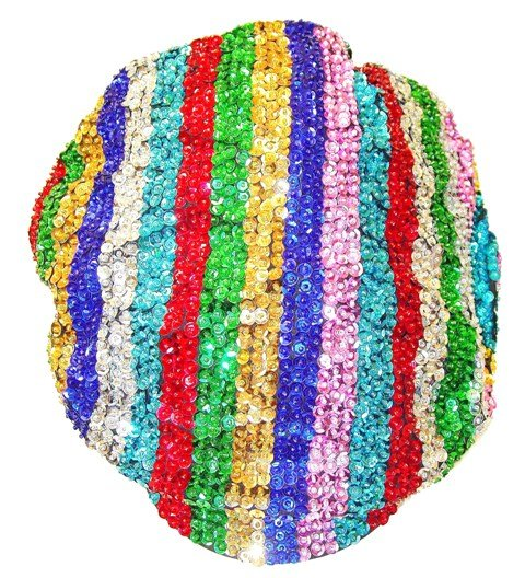 Image 0 of Sequin Brando Cap Rainbow (HAT03)