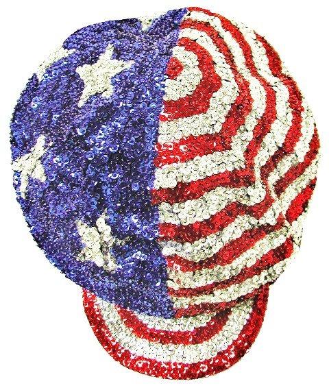 Image 0 of Sequin Brando Cap USA # 1 (HAT03)