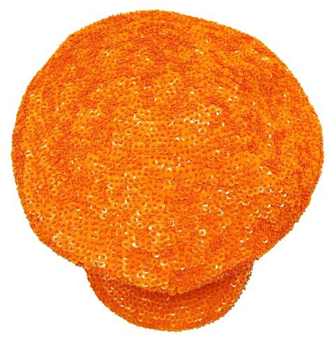 Image 0 of Sequin Brando Cap Orange (HAT03)