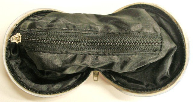 Image 1 of Coconut Coin Purse Black w/Shamrock