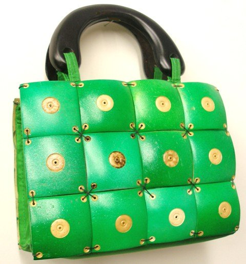 Image 0 of Coconut Purse Green 8