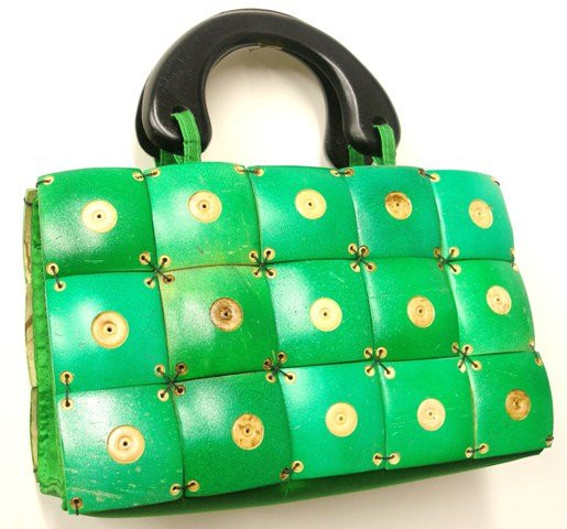 Image 0 of Coconut Purse Green 10