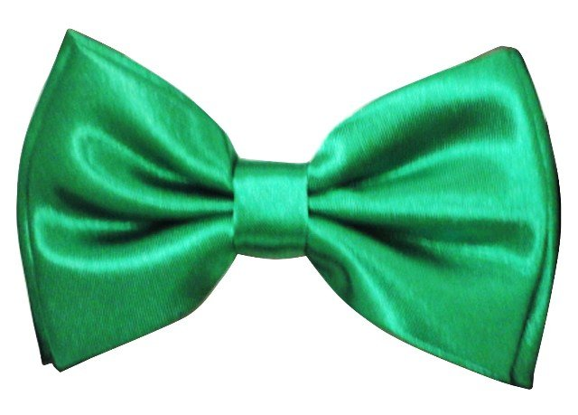 Image 0 of Bow Tie Emerald Green