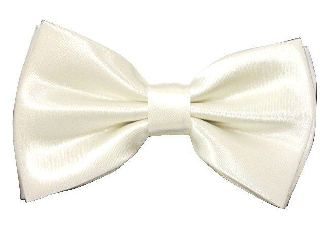 Image 0 of Bow Tie Satin White