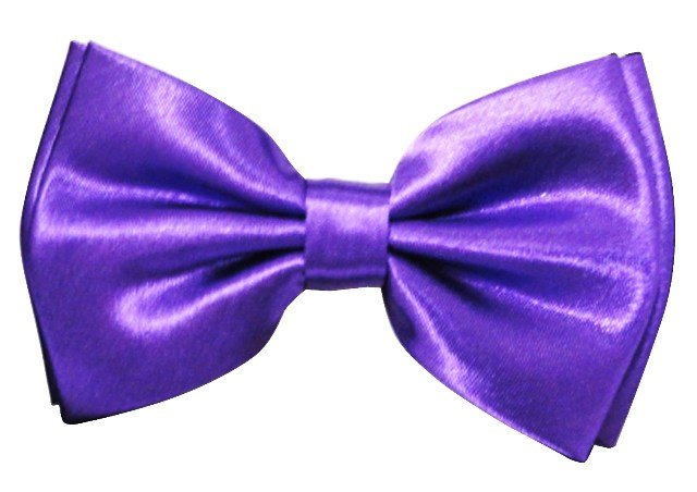 Image 0 of Bow Tie Purple