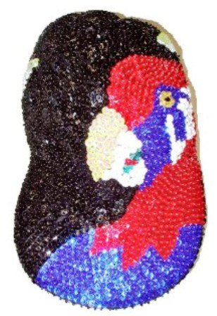 Image 0 of Sequin Baseball Cap Birds
