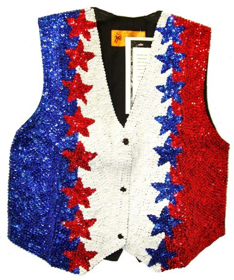 Image 0 of Sequin Vest USA # 2 for Kids