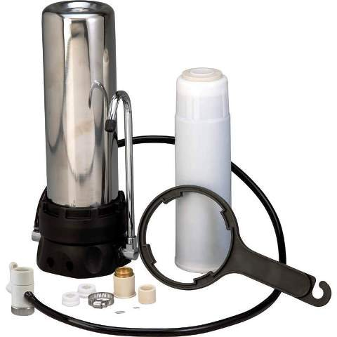 Image 0 of Countertop Stainless Steel Water Filter