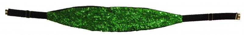Image 0 of Sequin Cummerbund Emerald Green