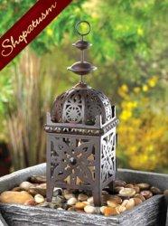 36 Centerpieces Wholesale Wedding Moroccan Candle Black Lanterns