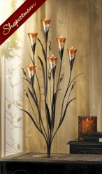 12 Large Floral Wedding Centerpiece Dawn Flower Candle Holder