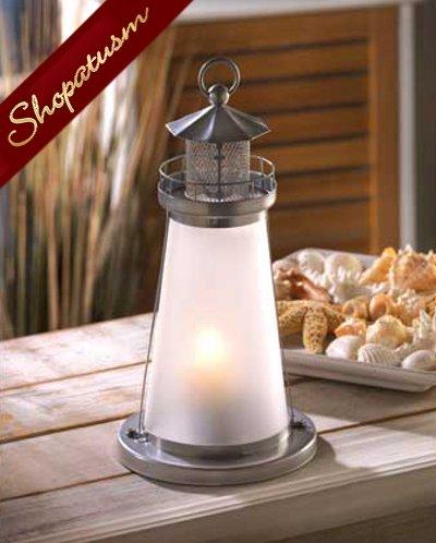 Wholesale Lanterns, Lighthouse Lamp, Lighthouse Candle Lantern, Bulk Lot 12
