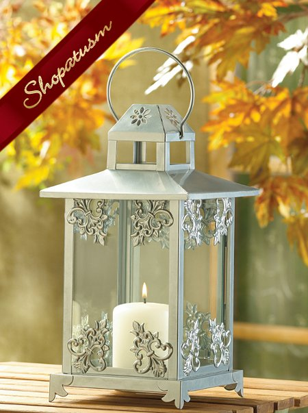 Wedding centerpieces ornate silver wholesale candle