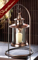 20 Centerpieces Copper Hanging Tabletop Candle Lantern