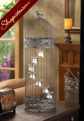 48 Large Birdcage Wedding Centerpieces Staircase Stand