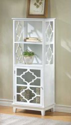 Casablanca Bathroom White Storage Cabinet with Shelves