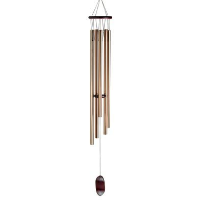 Grand 57 Inch Vista Metal and Wood Garden Windchime