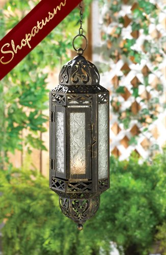 24 Victorian Style Cable Lanterns Elegant Hanging Lamps Metal