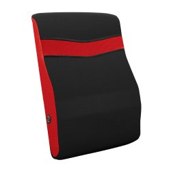 10 Wholesale Red and Black Vibrating Back Massage Pillow 2 Speeds
