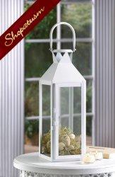 12 Wholesale Lanterns, Classic White, Manhattan Cable Lanterns, Bulk Lot