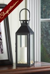 24 Manhattan Cable Black Classic Centerpieces Candle Lanterns