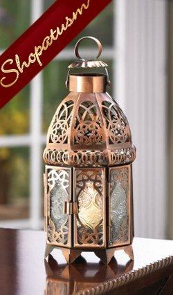 12 Wholesale Lanterns Copper Wedding Centerpieces