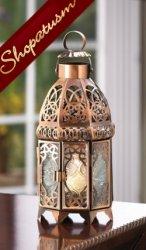 60 Candle Lanterns Copper Moroccan Wedding Centerpieces Wholesale