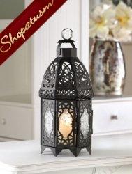 12 Wholesale Lanterns, Black Centerpieces, Black Cage Lattice Lanterns, Bulk Lot