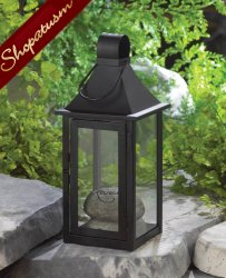 12 Wholesale Lanterns, Black Carriage House, Large Centerpiece, Bulk Lot