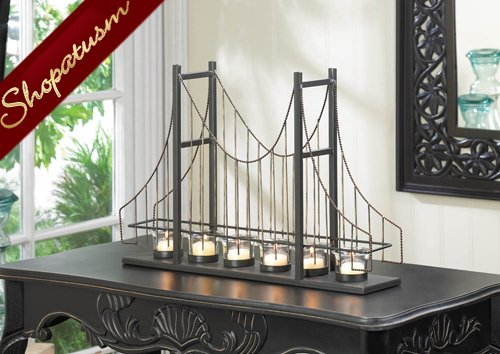 48 Golden Gate Bridge Centerpieces Charming Candle Holders