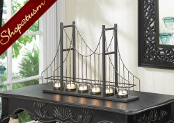 12 Candle Holders Golden Gate Bridge Centerpieces Charming