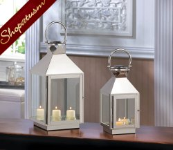 48 Silver Centerpieces Stainless Steel Wholesale Lanterns Small Dapper