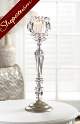 12 Candle Stands Crystal Wedding Centerpieces Elegant