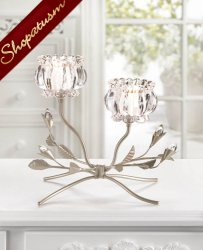 48 Crystal Flower Centerpieces Wholesale Candelabras Floral