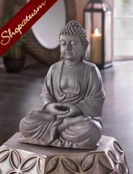 Meditation Buddha Statue Sacred Space Centerpiece Peace & Tranquility