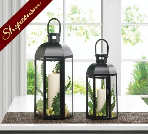 Lanterns medium black dome wedding centerpieces wholesale