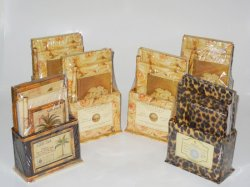 Wholesale Lot 6 Desktop Gift Sets Floral, Tropical and Leopard
