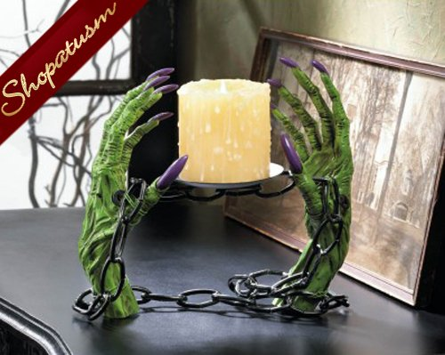 Witch Shackles Party Candle Holder Halloween Creepy Centerpiece