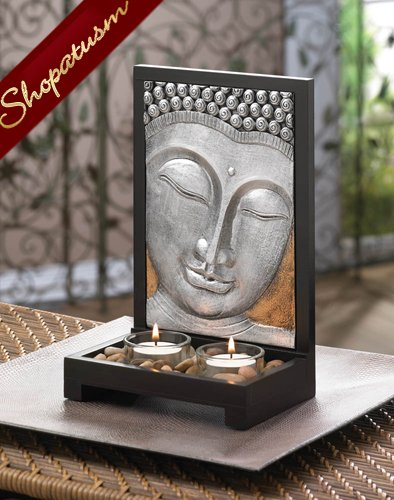 60 Wholesale Sacred Space Centerpieces Buddha Plaque Candle Holders